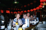 First Night and Favorite Bar,all done in Red&Black. Lt>Rt Barbara Cotter Wiegandt,Frances Simpson,Mike Sherman,Id