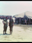 While in Vietnam, I was fortunate to run in to a PBHS clammate and good friend, Billy Lardizabel.I was in Tay Ninh for s
